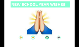 NEW SCHOOL YEAR WISHES