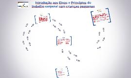 PRINCÍPIOS DO TRABALHO CORPORAL COM CRIANÇAS DE 1 AOS 3 ANOS CEVEC