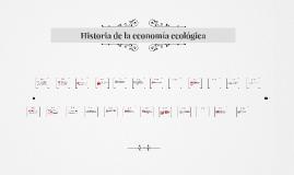 Historia de la economía ecológica