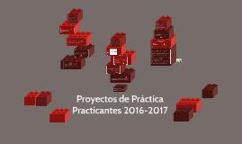 Proyectos de Práctica Practicantes 2017