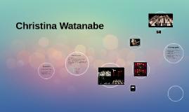 Christina Watanabe