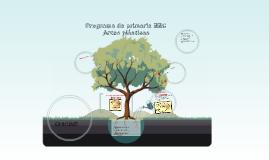 Programa primaria EECC, Artes plásticas