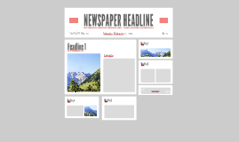 Copy of newspaper template
