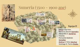 Sumeria (3500 - 1900 ane)