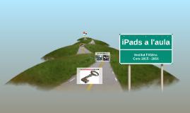 iPads a l'aula_Institut l'Alzina