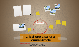 Critial Appraisal of a Journal Article