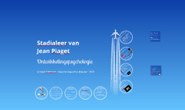 Stadialeer van Jean Piaget