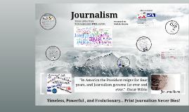 Copy of Journalism