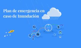 Plan de emergencia en caso de Inundación
