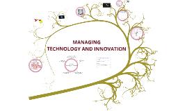 Managing Technology & Innovation