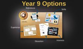 Yr9 Options January 2015