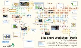 Bike share workshop - Perth