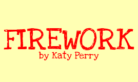 Copy of Firework Katy Perry Figurative Language
