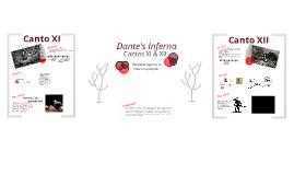 Dante's Inferno: Cantos XI & XII