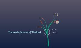 Thailand music