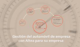 Altea per la vostra auto aziendale auf spanisch