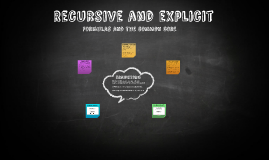 Recursive and explict