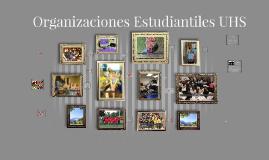 Organizaciones Estudiantiles UHS