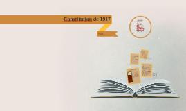 Constitution de 1917