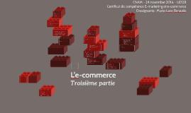 L'e-commerce troisième partie