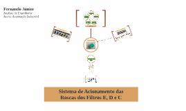 Sistema de Acionamento das Roscas dos Filtros E, D e C - Moura (UN04)