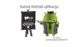 Razvoj Android aplikacija