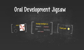 Oral Development Jigsaw