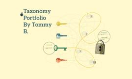 Copy of Taxonomy Portfolio By [Name]