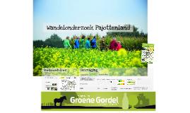 INTERN Persvoorstelling Wandelonderzoek Pajottenland 2016