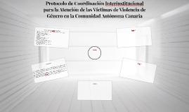 Protocolo de Coordinación Interinstitucional para la Atenció