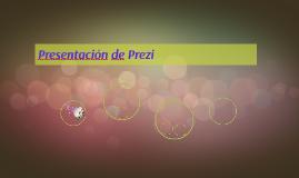 Presentación de Prezi