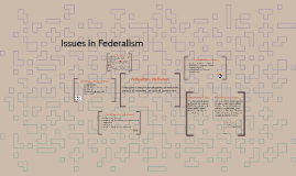 Issues in federalism