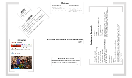 Research Methods in Science Education