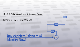 Buy my new polynomial identity now!