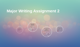 Major Writing Assignment 2
