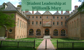 Student Leadership at William and Mary