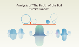 the death of the ball turret gunner analysis