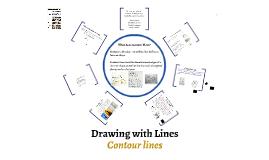 Contour Line Drawing - Art 1