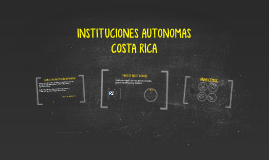 INSTITUCIONES AUTONOMAS