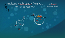 Pathology/Pathophys of Analgesic Nephropathy