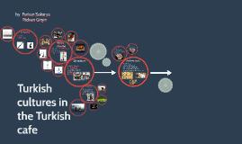 Turkisch cultures in the Turkisch cafe