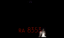 Copy of The Anti-Rape Law of 1997 (RA 8353)
