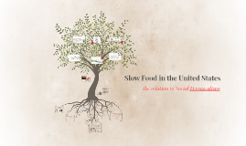 Slow Food in the United States