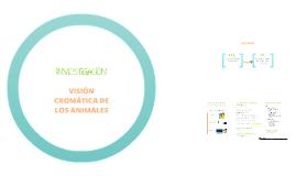 Investigación Visión cromática de los animales