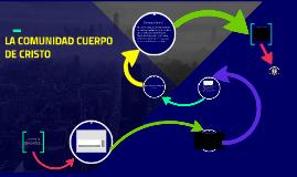 Copy of LA COMUNIDAD CUERPO DE CRISTO