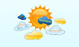 Job Search Techniques