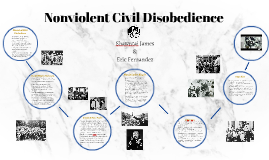 Nonviolent Civil Disobedience