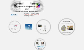 Visual Management and Blind Software Developers (Agile 2015)