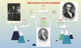 john arshall born and death