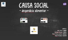 CAUSA SOCIAL